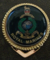 Royal Marines Ladies Scarf Clasp