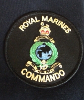 Royal Marines Commando Navy Hoodie