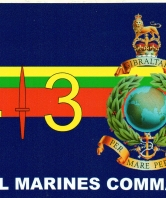 43 Commando Royal Marines Car Sticker