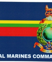 Royal Marines Commando Car Sticker