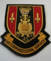 45 Commando Royal Marines Blazer Badge
