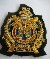Kings Own Scottish Borderers Blazer Badge