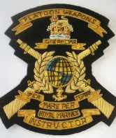 Royal Marines Platoon Weapons Instructor Blazer Ba