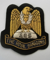 Royal Dragoons Blazer Badge