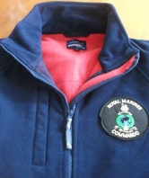 Royal Marines Navy Fleece with Red