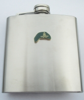 29 Commando Royal Artillery Green Beret Hip Flask