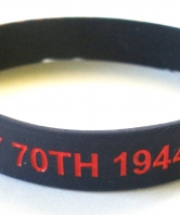 D Day 70th Anniversary Silicone Wristband