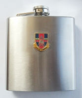 Hasler Company Royal Marines Hip Flask