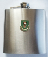 29 Commando Royal Artillery Shield Hip Flask