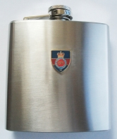 Household Cavalry Hip Flask