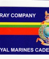 X-Ray Company Royal Marines Cadets Car Bumper Stic