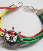Royal Marines Ladies Ships Wheel Bracelet