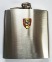 Kings Royal Hussars Hip Flask