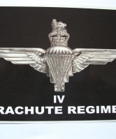 Parachute Regiment - 4 Para Car Sticker