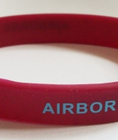 Airborne Forces Pegasus Silicone Wristband