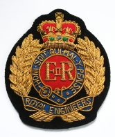 Royal Engineers Goldwire Blazer Badge