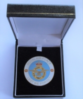 Lest We Forget Royal Air Force Coin in Box