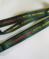 43 Commando Fleet Protection Group RM Neck Lanyard