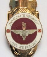 Lest We Forget Parachute Regiment Walking Stick Mo