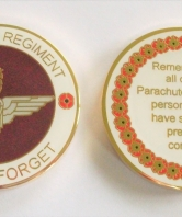 Lest We Forget Parachute Regiment Coin i